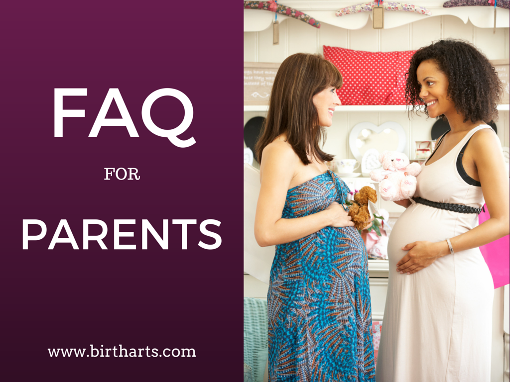 FAQ for Parents Birth Arts International
